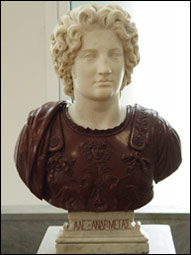Bust of Alexander the Great, State Art Museum of Uzbekistan