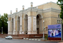 The State Big Academic Theatre of opera and ballet named after Alisher Navoy