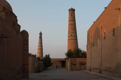 Juma Mosque and its Minaret