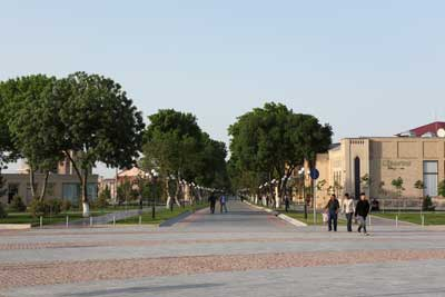 Tashkent Street – the street of craftsmen